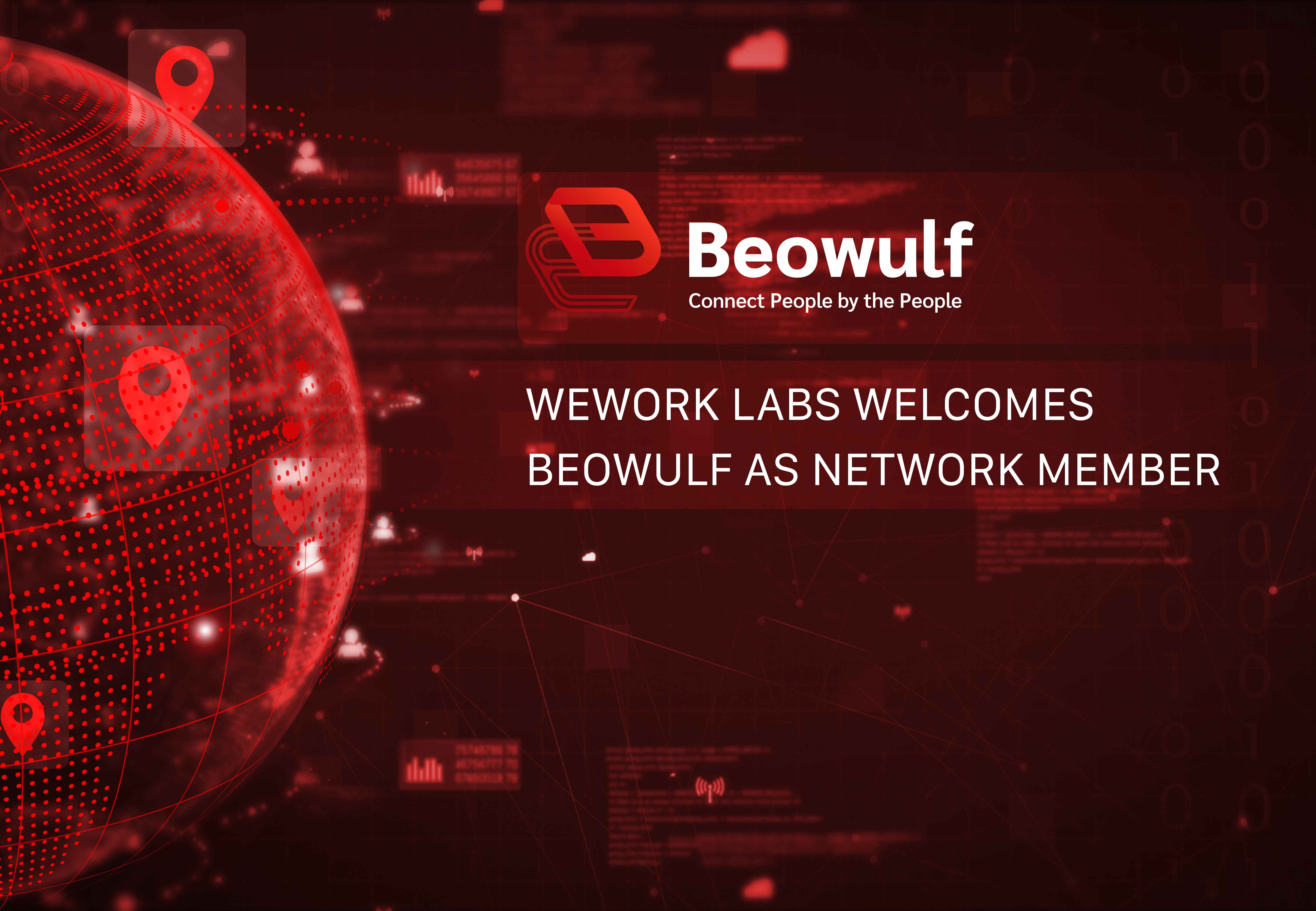 WeWork Labs Incubator Welcomes Decentralized Cloud Network Beowulf as Network Member