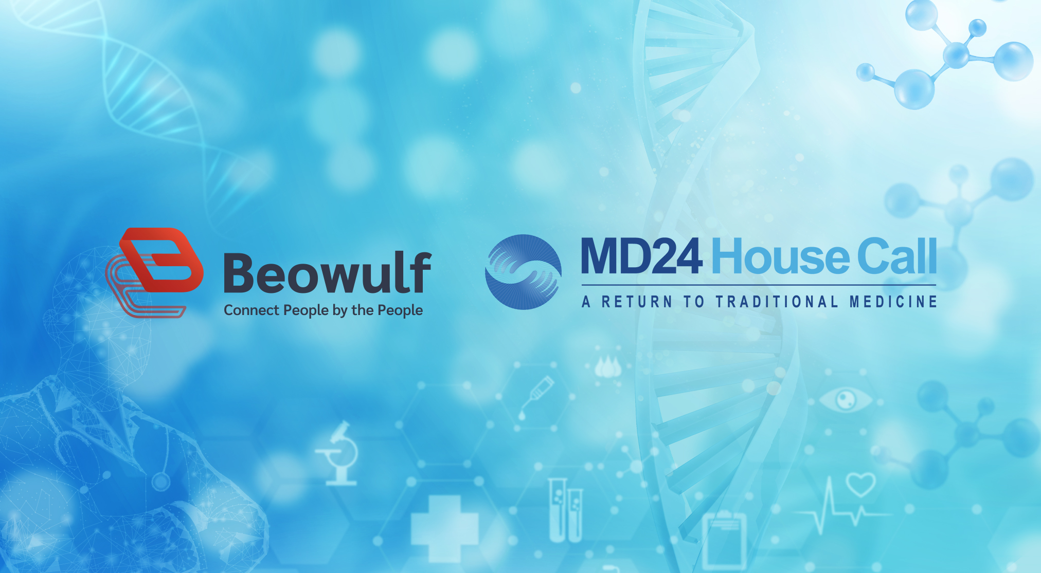 Beowulf Blockchain Partners with MD24 House Call to Provide a Comprehensive Telehealth System