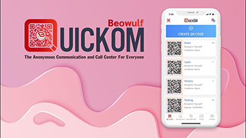 Create your personal QR code for anonymous communication in 2 minutes!
