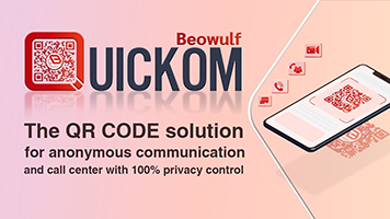 QUICKOM - The QR code solution for anonymous communication and call center with 100% privacy control