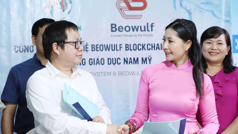 Beowulf Blockchain featured on Vietnam National TV - VTV1