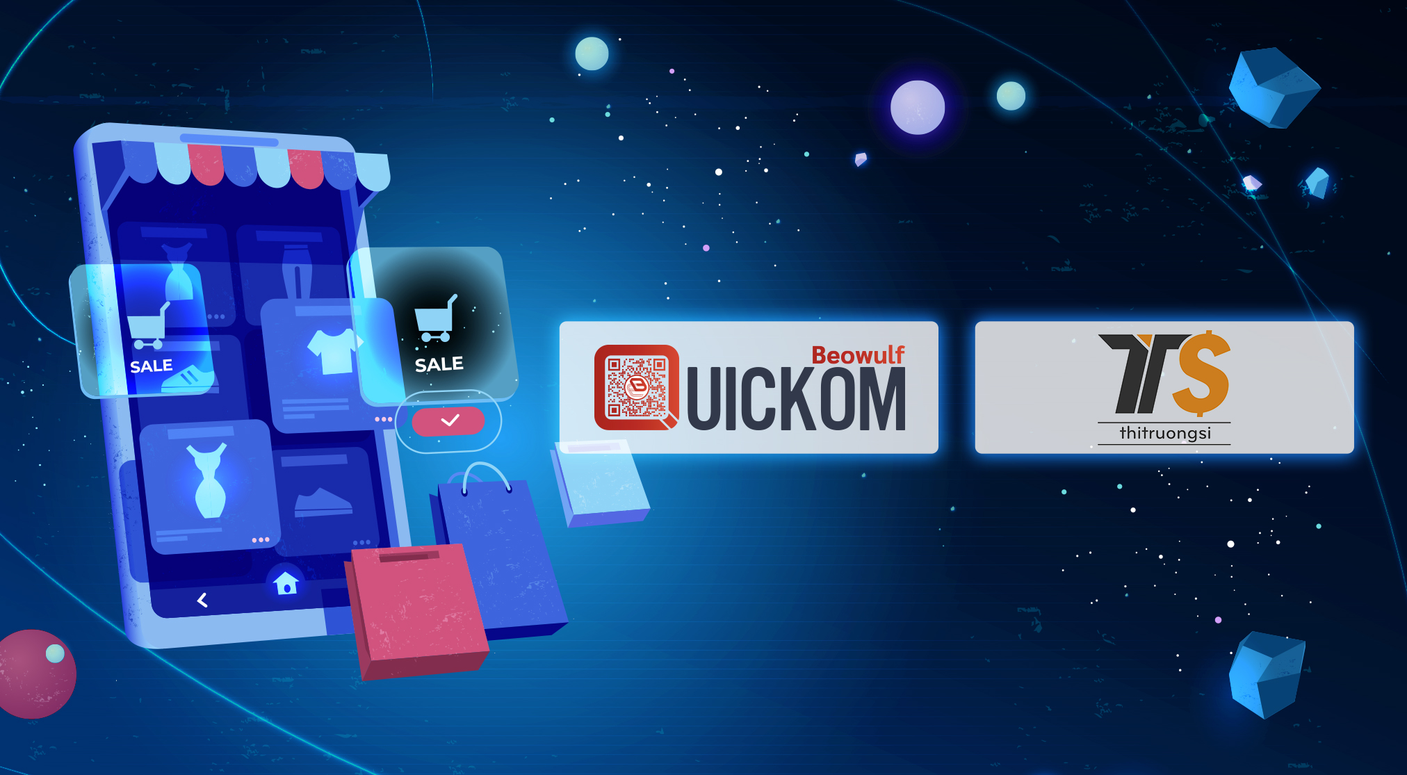 QUICKOM Technology enables Vietnam's Largest Wholesale Marketplace to Propel Better Customer Success