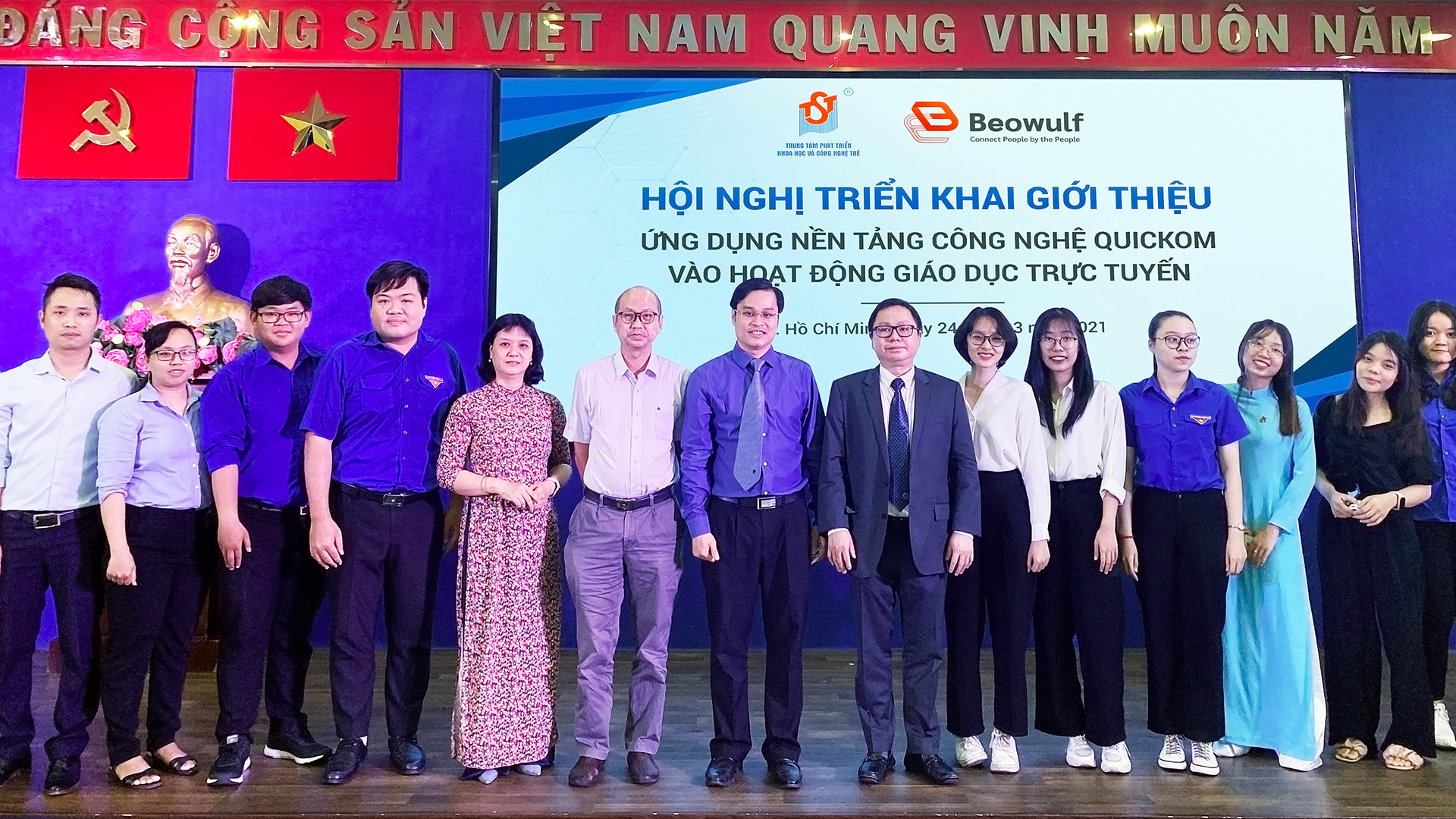 Beowulf Blockchain Partners with the Ho Chi Minh Communist Youth Union to Deploy QUICKOM Technology for the Academic Community Beowulf Blockchain